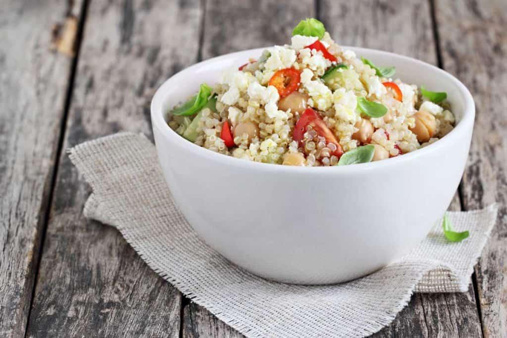 receta ensalada de quinoa