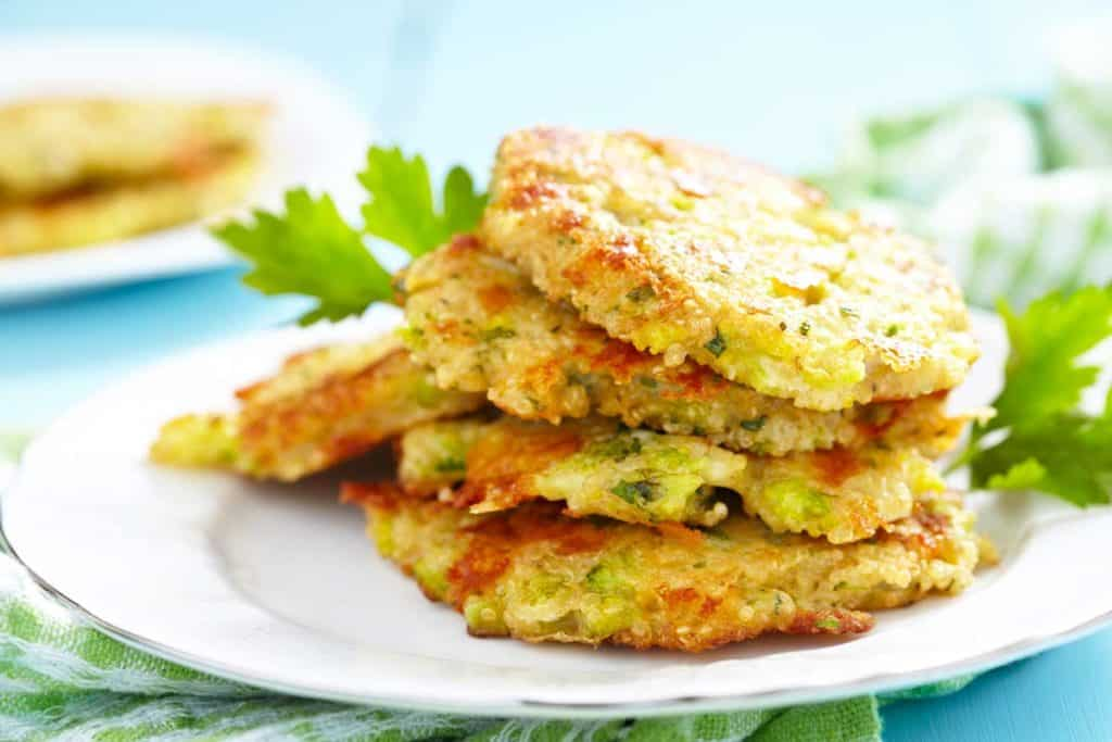 receta Tortitas de quinoa